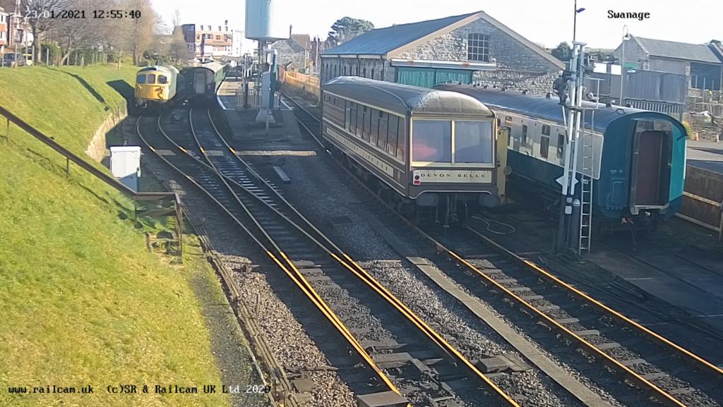 Swanage Railway webcam