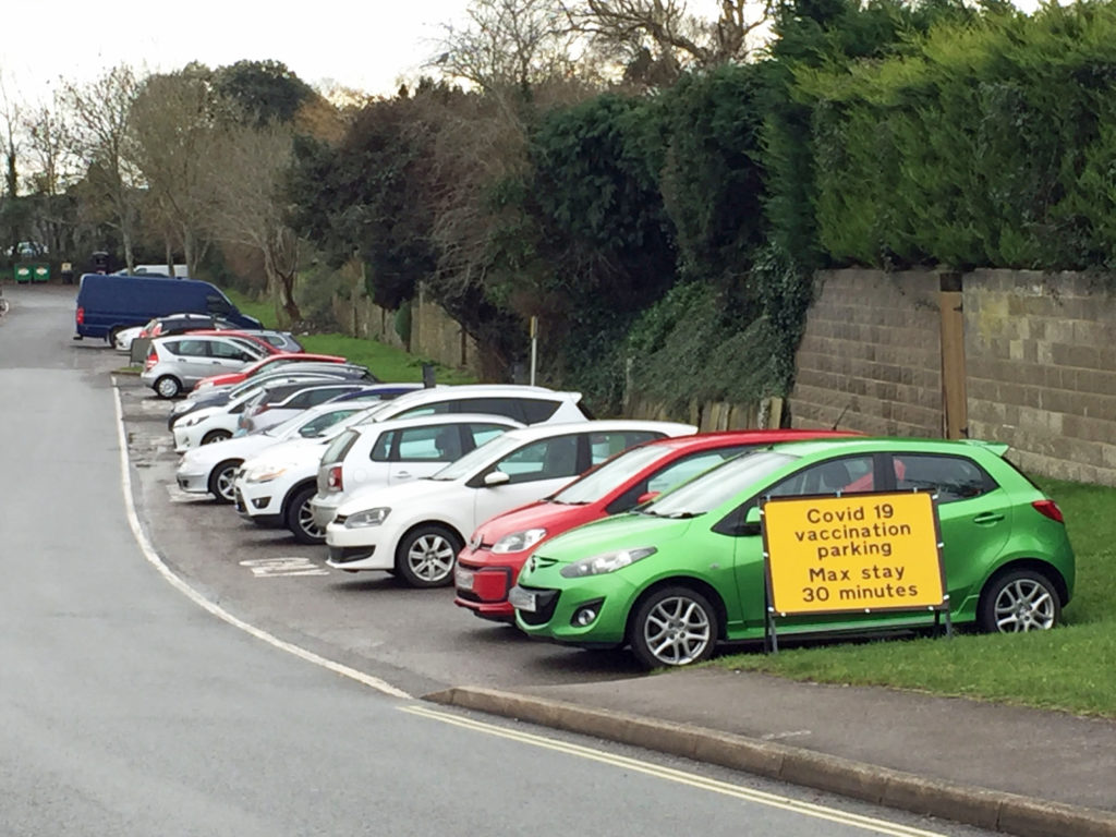 Parking at Wareham Hospital