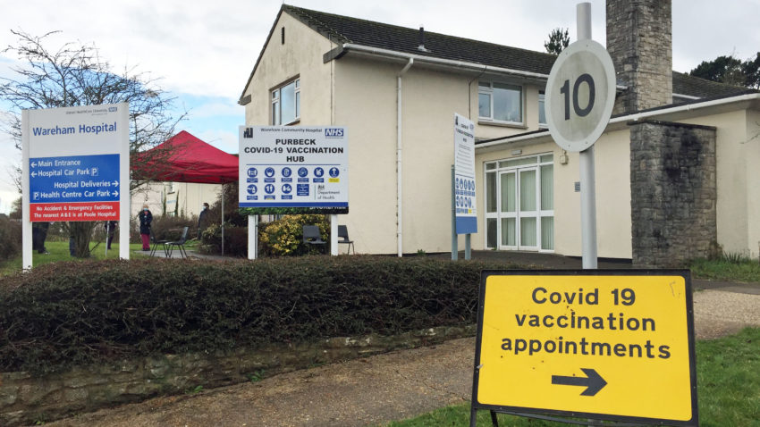 Wareham Hospital covid vaccine rollout