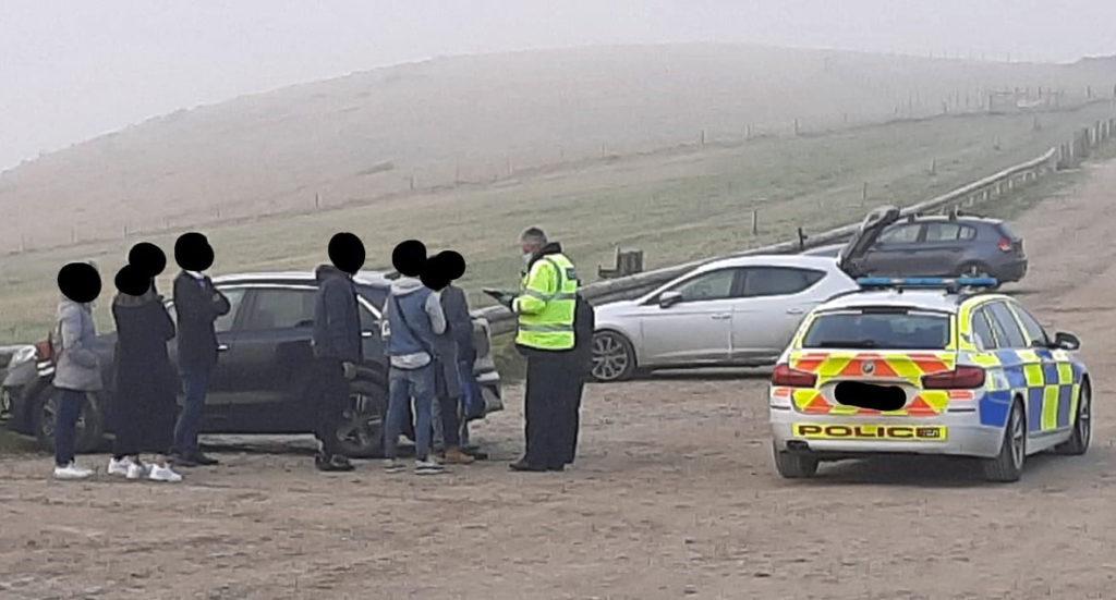 police patrolling Lulworth Estate