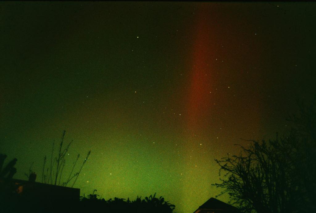 Northern Lights in Wimborne