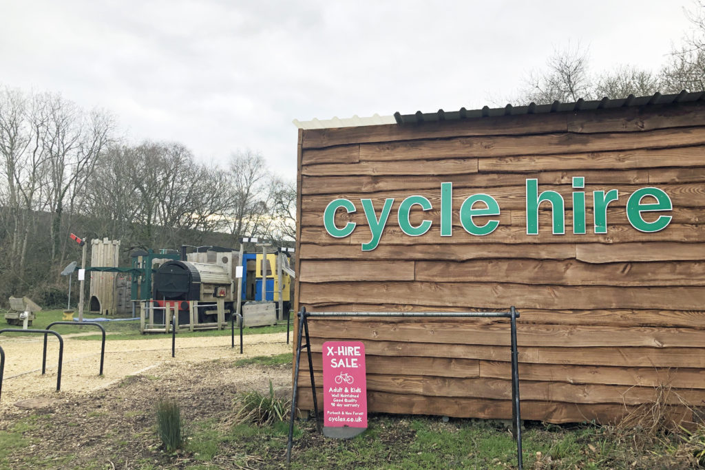 Cycle hire at Purbeck Park