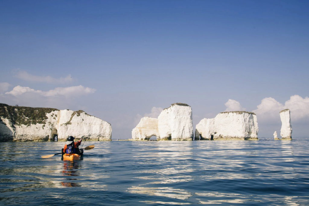 Fore Adventure kayakking at Old Harry