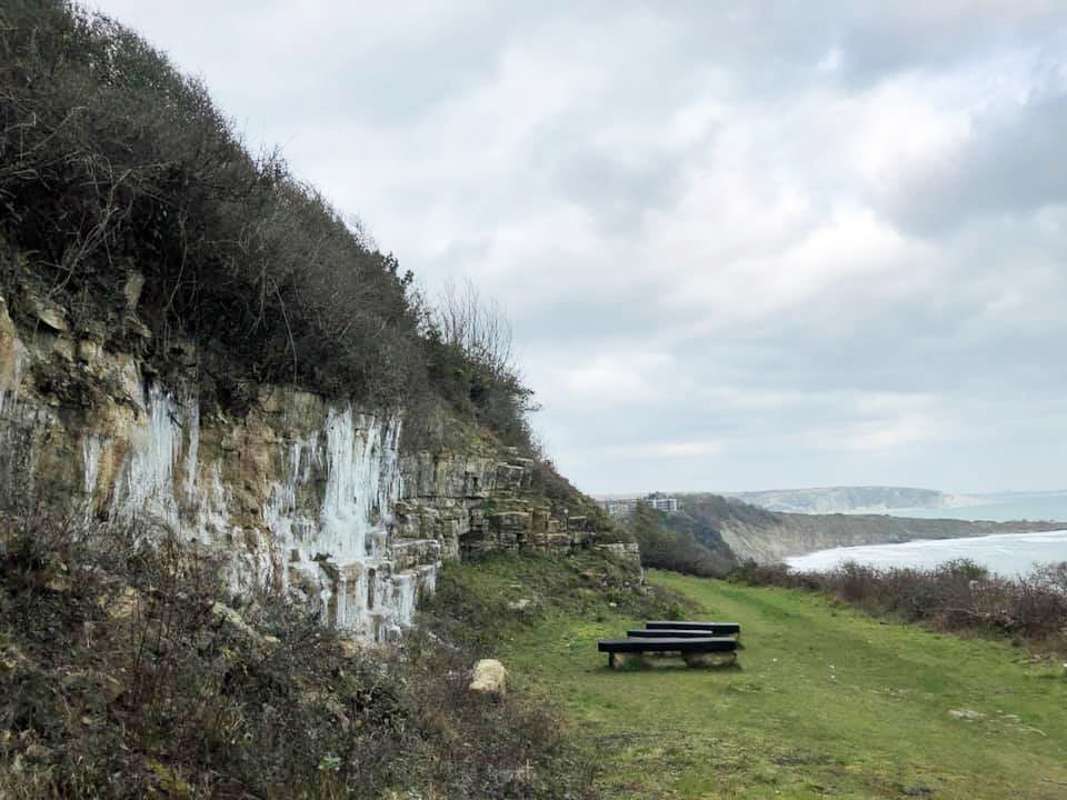 Icicles at Durlston