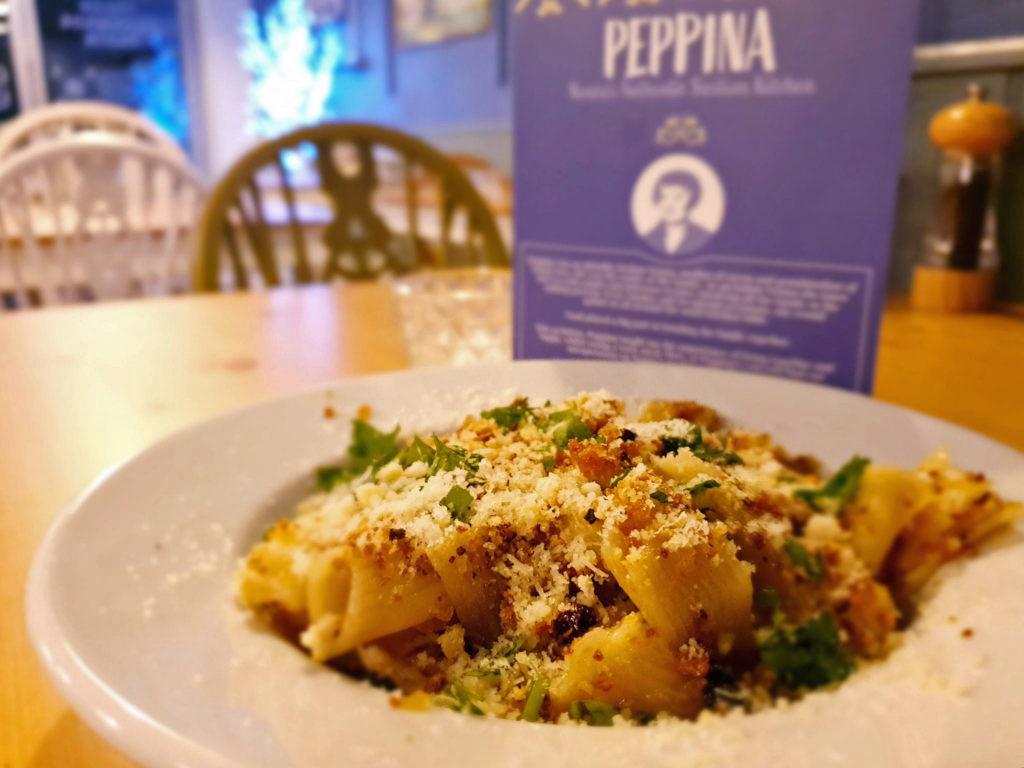 Food at Peppina
