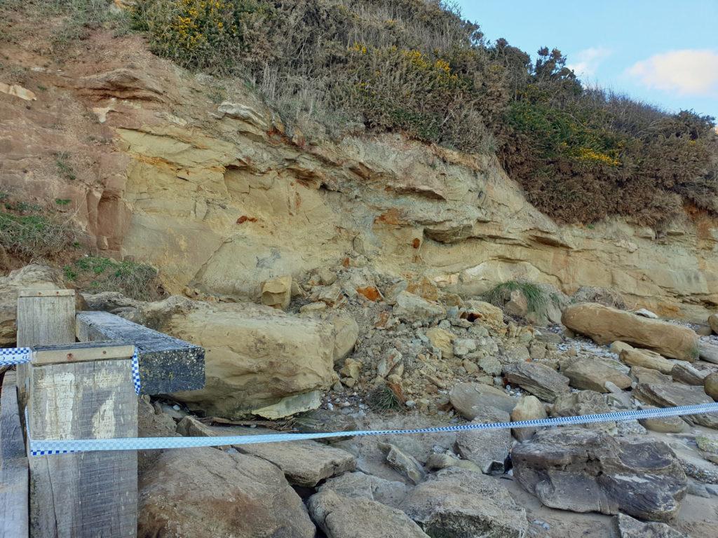 Shep's Hollow landslide