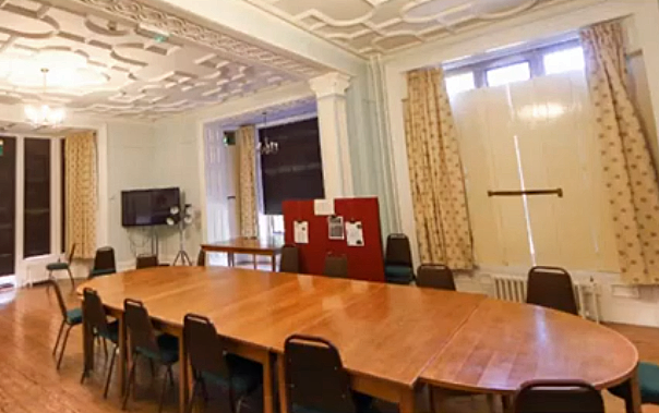 Meeting room at St Mary's, Shaftesbury
