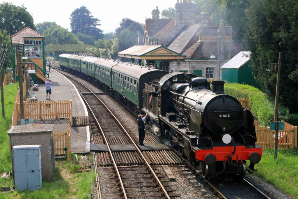 31806 Corfe Castle summer 2020 ANDREW PM WRIGHT