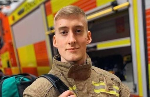 Alex at Wareham Fire Station (