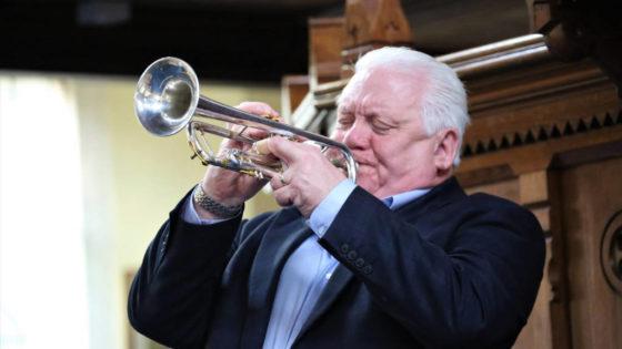 Jazz musician Bruce Adams