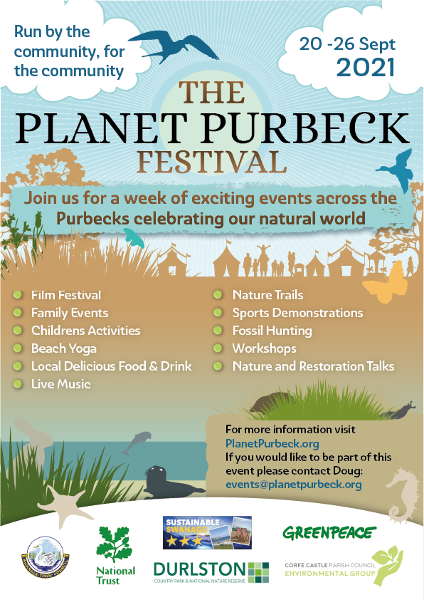 Planet Purbeck Festival Flyer