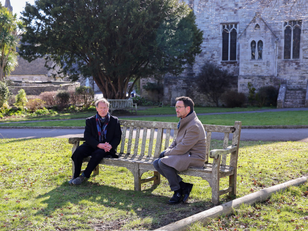 Filming taking place at St Mary's Church
