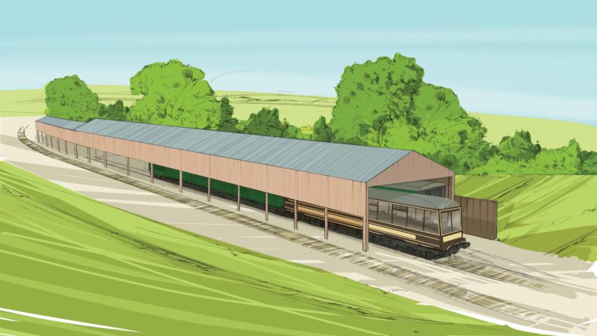 Herston carriage shed