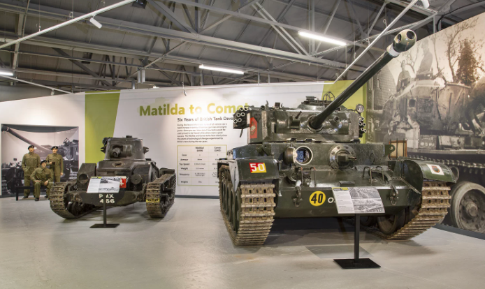 Tanks at the Tank Museum