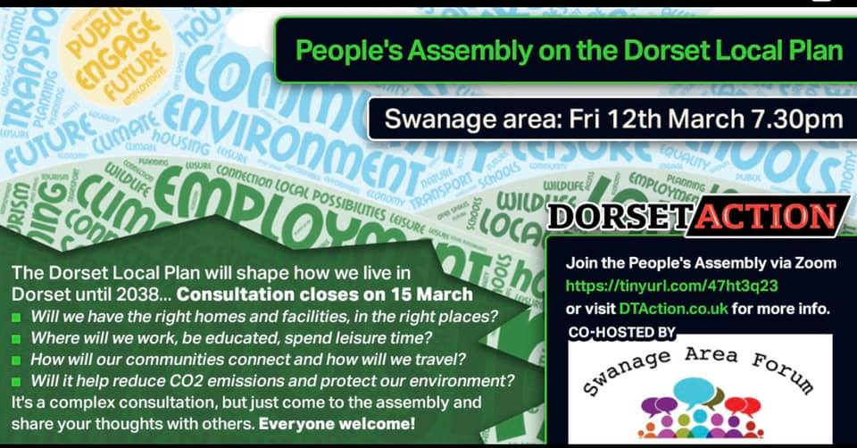 Swanage Peoples'Assembly poster