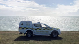 Swanage coastguard vehicle