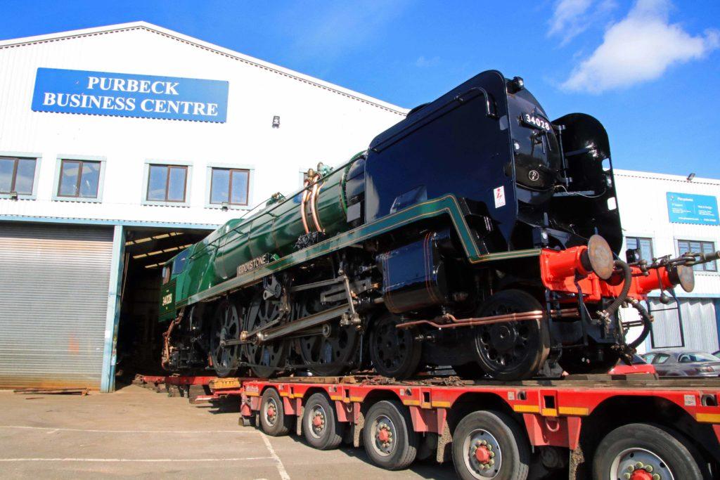 Eddystone leaves Herton engineering works