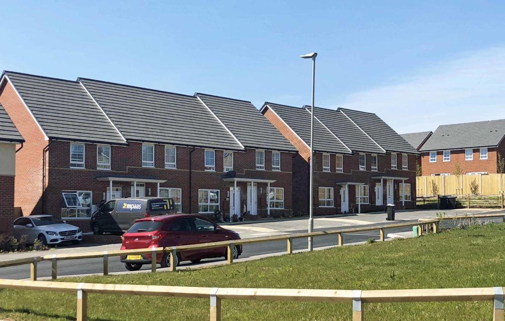 Affordable housing at Compass Point in Swanage
