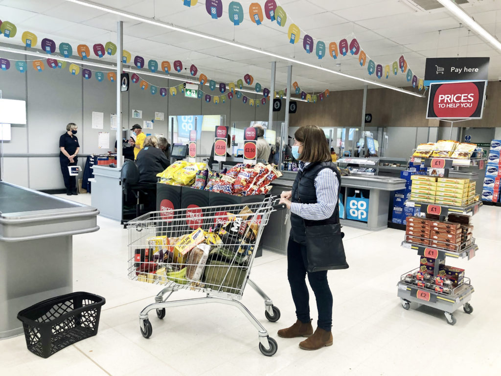 Inside the relaunched Co-op in Swanage