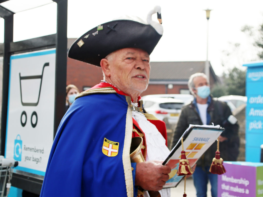Swanage Town Crier, Andrew Fleming