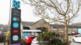 External view of the Co-op in Swanage