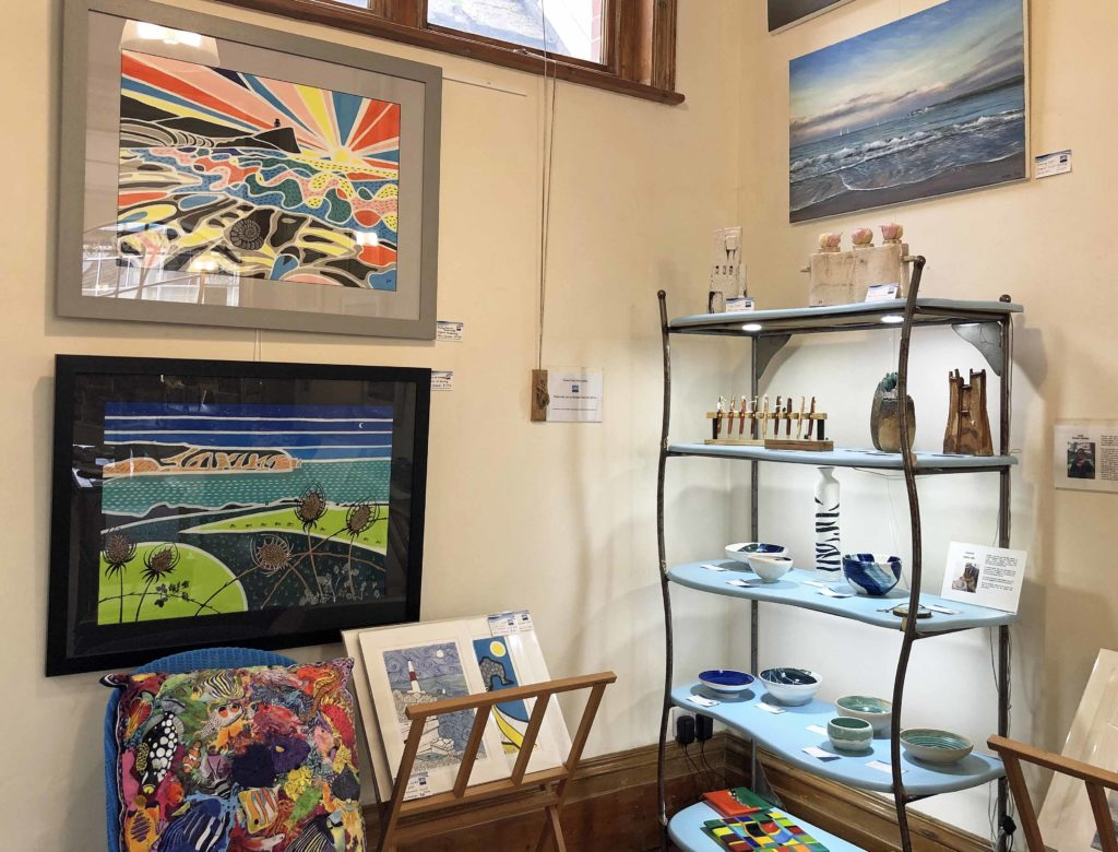 Interior of Purbeck New wave gallery