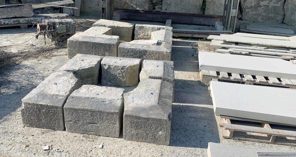 Original stone of the Albert Memorial