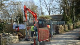 Spyway Orchard building work starts