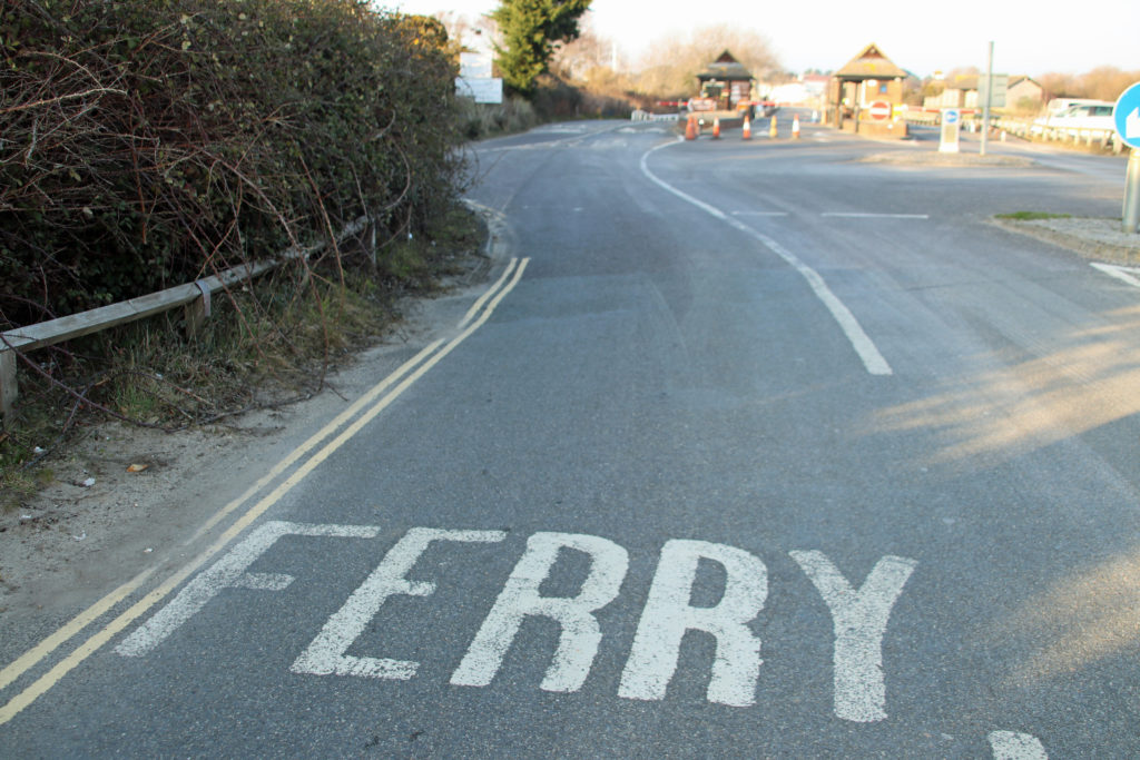 Ferry Road in Studland