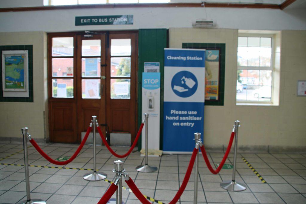Swanage Railway entrance