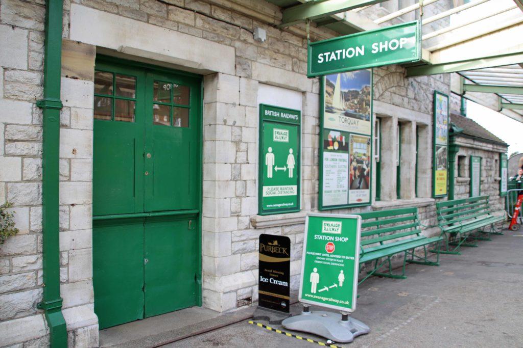 Swanage Railway shop