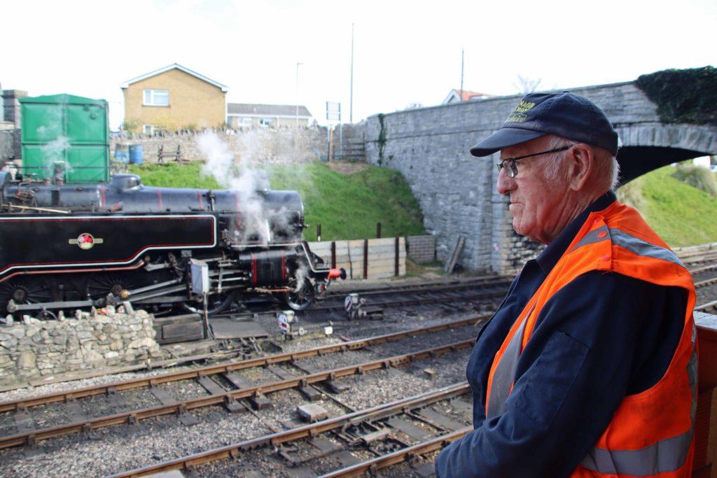 Paul McDonald at Swanage Railway
