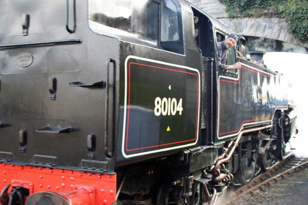 Locomotive at Swanage Railway