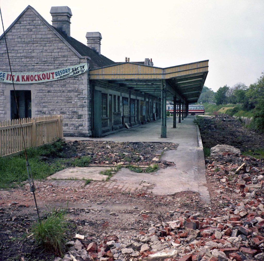 Swanage station 1975