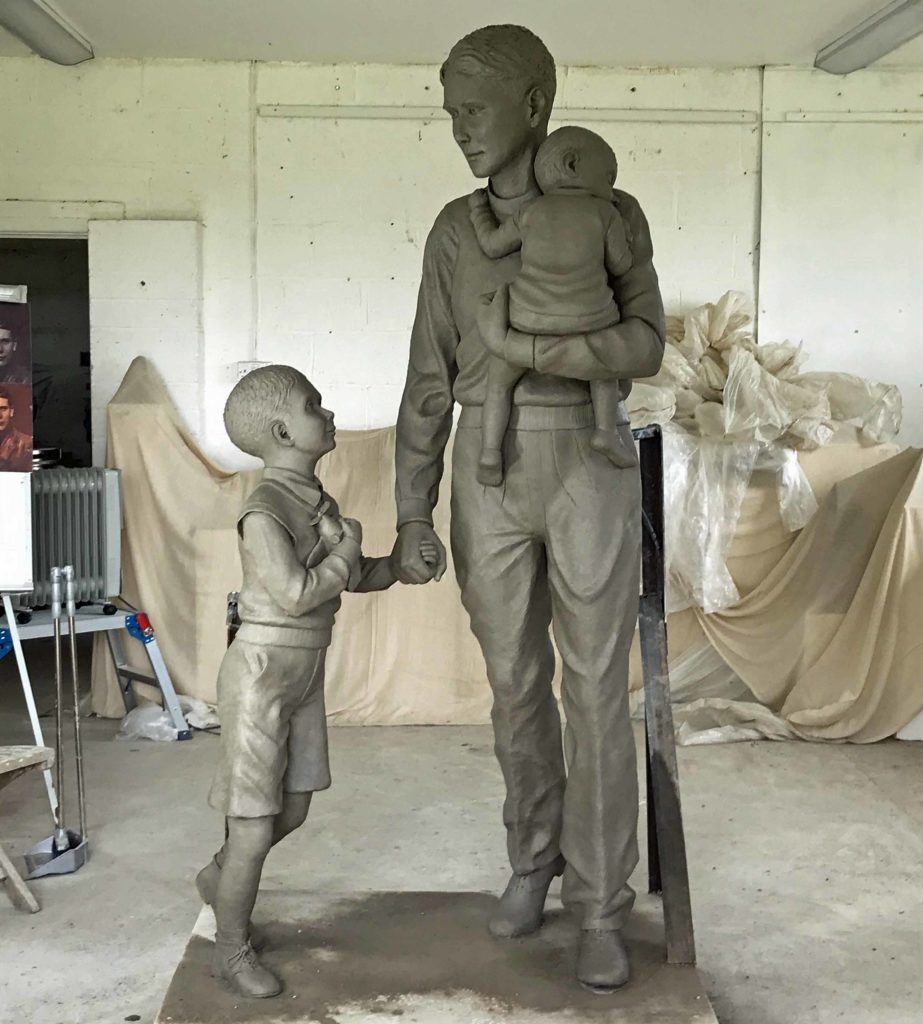 Trevor Chadwick sculpture
