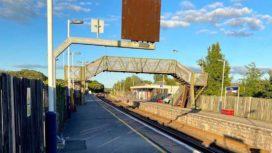 Wool railway station