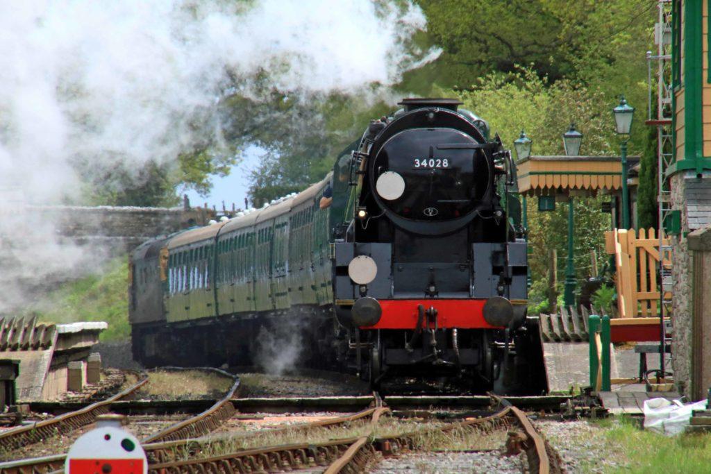 Eddystone at Swanage Railway