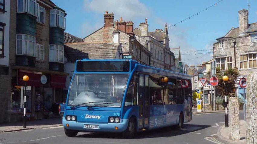 Durlston Explorer Bus in Swanage