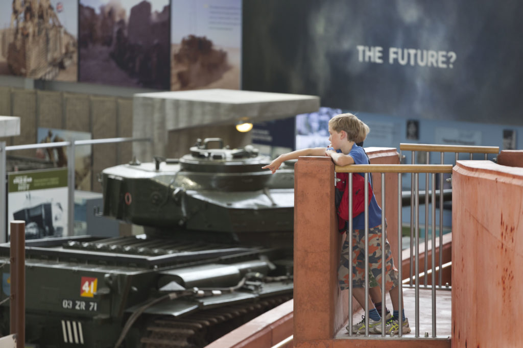 Exhibition at the Tank Museum