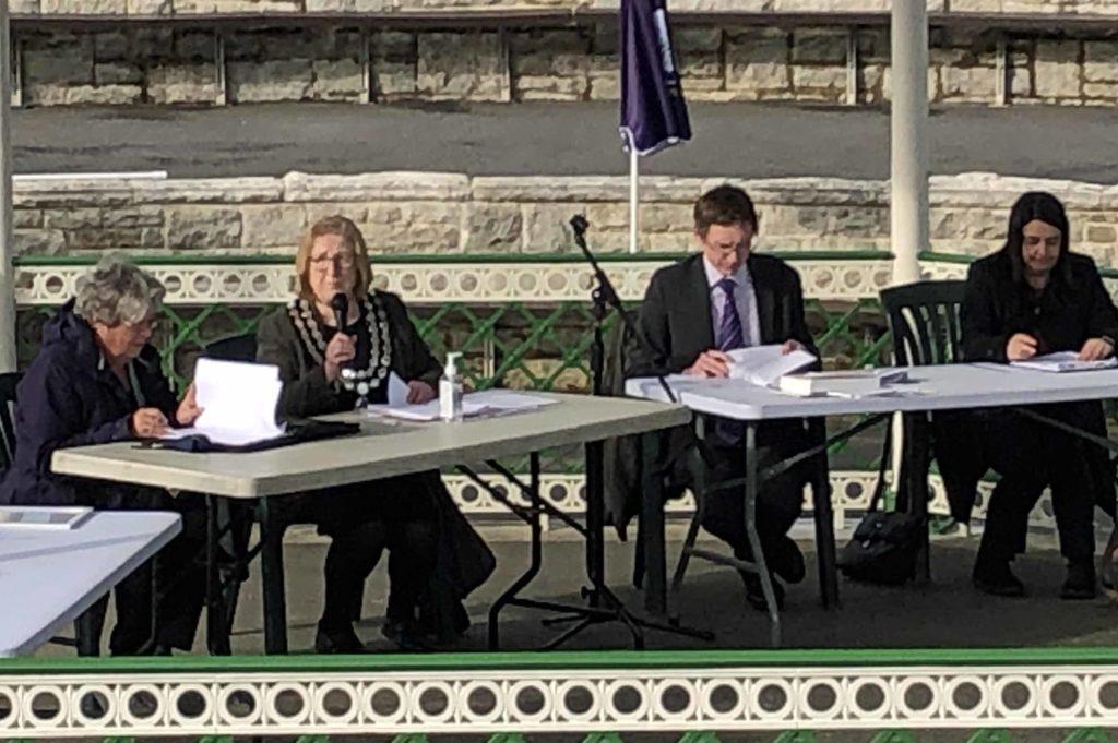 Election of new mayor Avril Harris