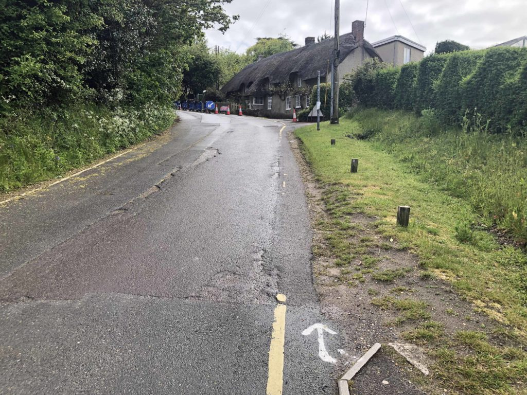 School Lane in Studland