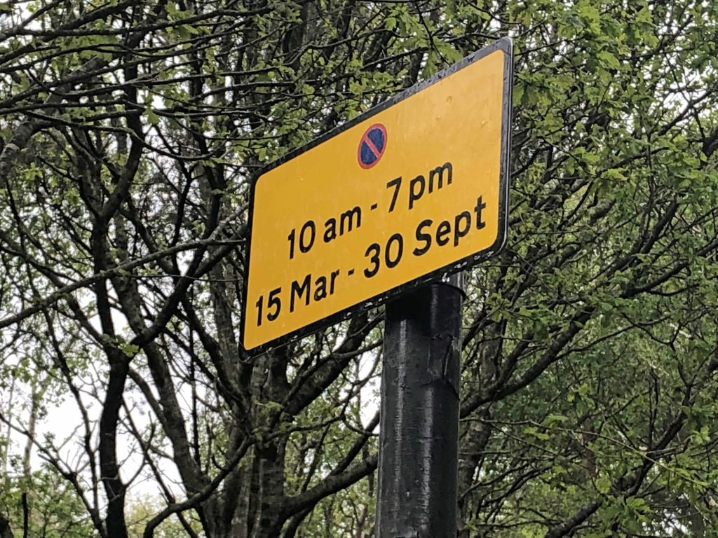 Ferry Road parking restrictions