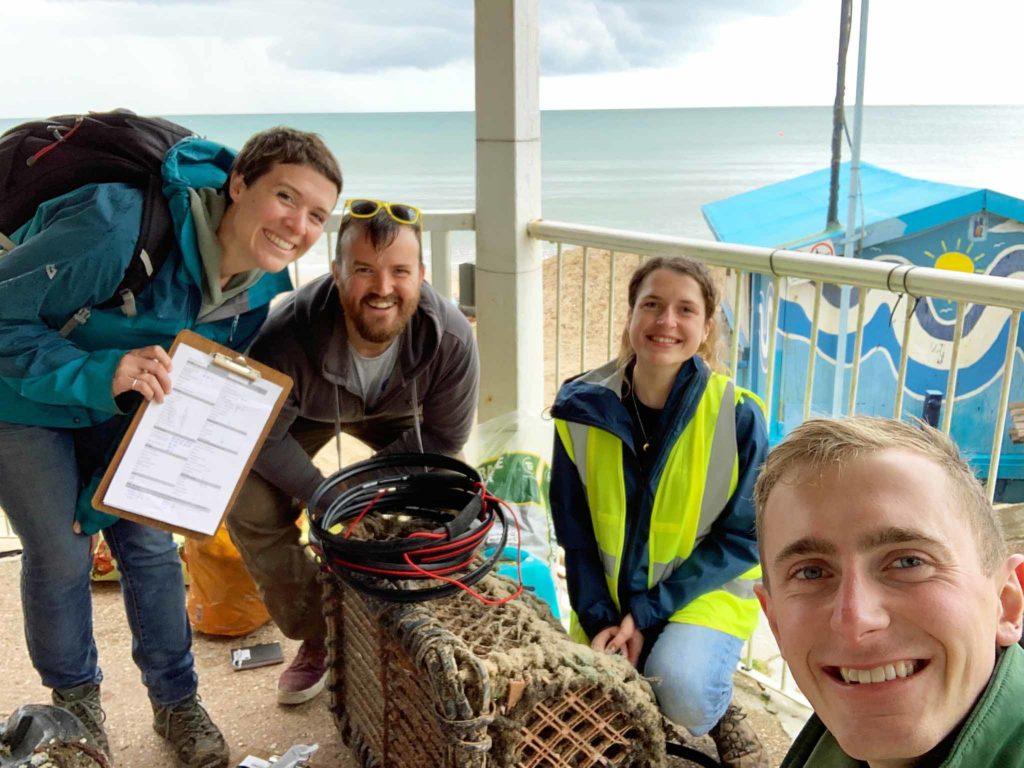 Great Dorset Beach Clean on Swanage North Beach