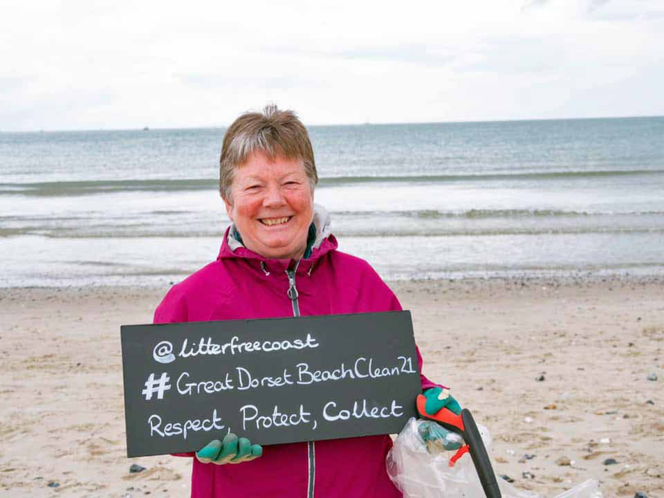 Great Dorset Beach Clean at Studland