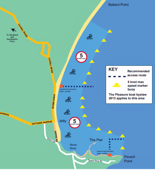Swanage Bay map