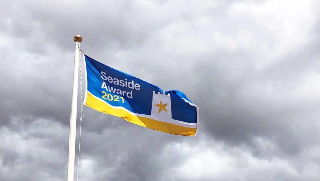 Seaside Award flag