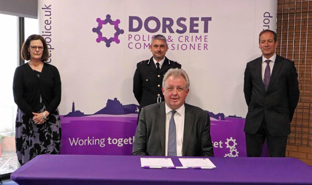 David Sidwick sworn in as Dorset PCC