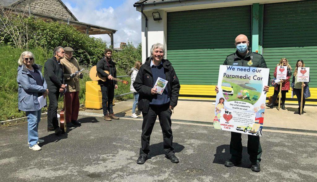 Swanage Ambulance Car campaign