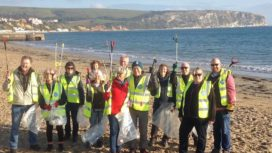 Swanage Beach Clean 2019