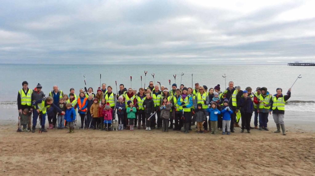 Swanage Beach Clean 2019